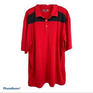 CALLAWAY men's SS golf shirt, polo, Size L
